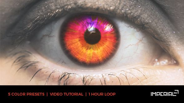 Eye Audio React O After Effects Template See It In Action