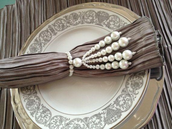 awesome and original handmade napkin rings that por conceptotres, $5.00 #napkinrings