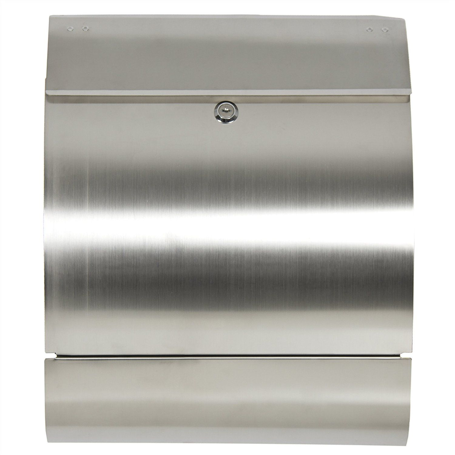 Best choice products sky166 stainless steel mailbox security mailboxes amazon com