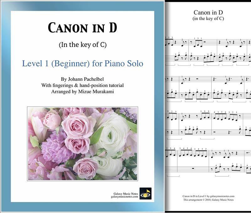 Canon In D Wedding Piano Sheet Music In 2019 Piano Sheet Music