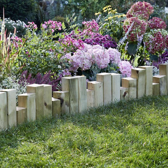 beeteinfassung - material, anlegen und tipps | beeteinfassung, Gartenarbeit ideen