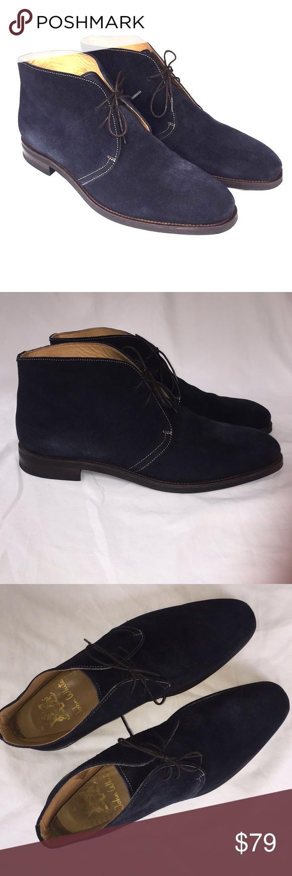 John White Westbury Blue Suede Boots Blue Suede Boots John White Shoes Boots