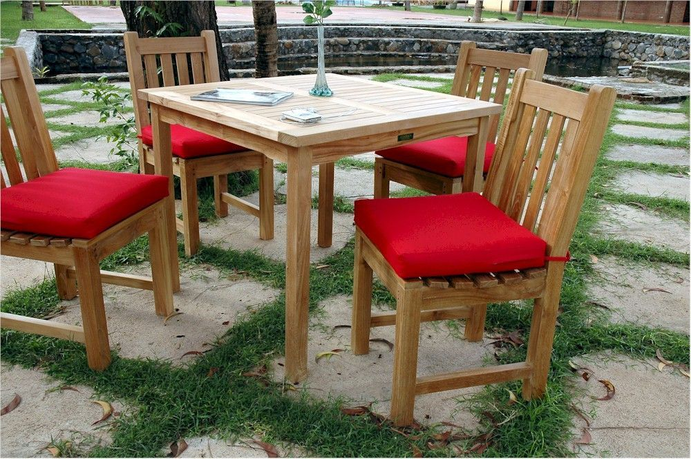 bahama 35 square table with 4 classic dining chairs set 25 rh pinterest ca