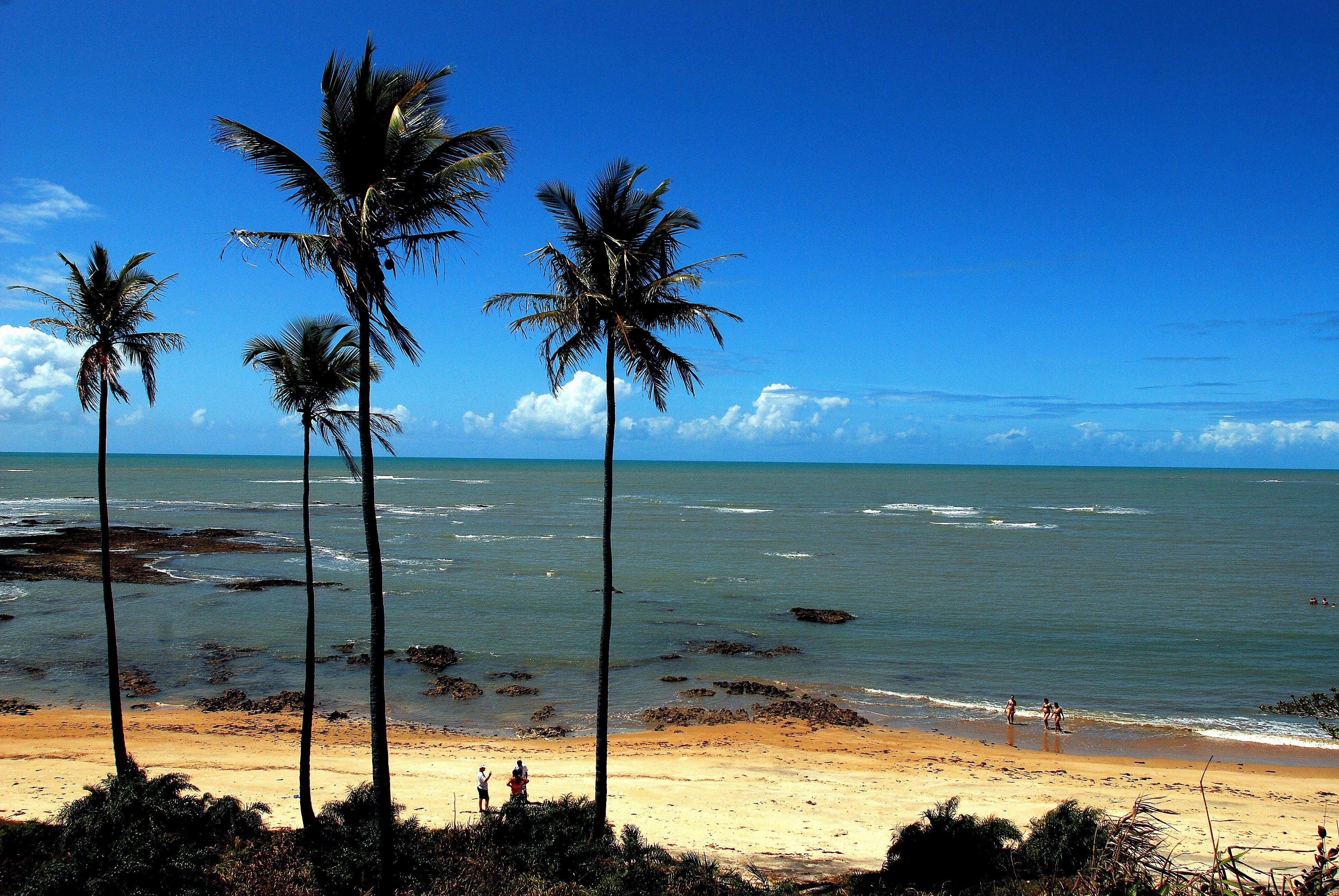 Praia Do Moreira Em Cumuruxatiba Prado Ba Prado Bahia