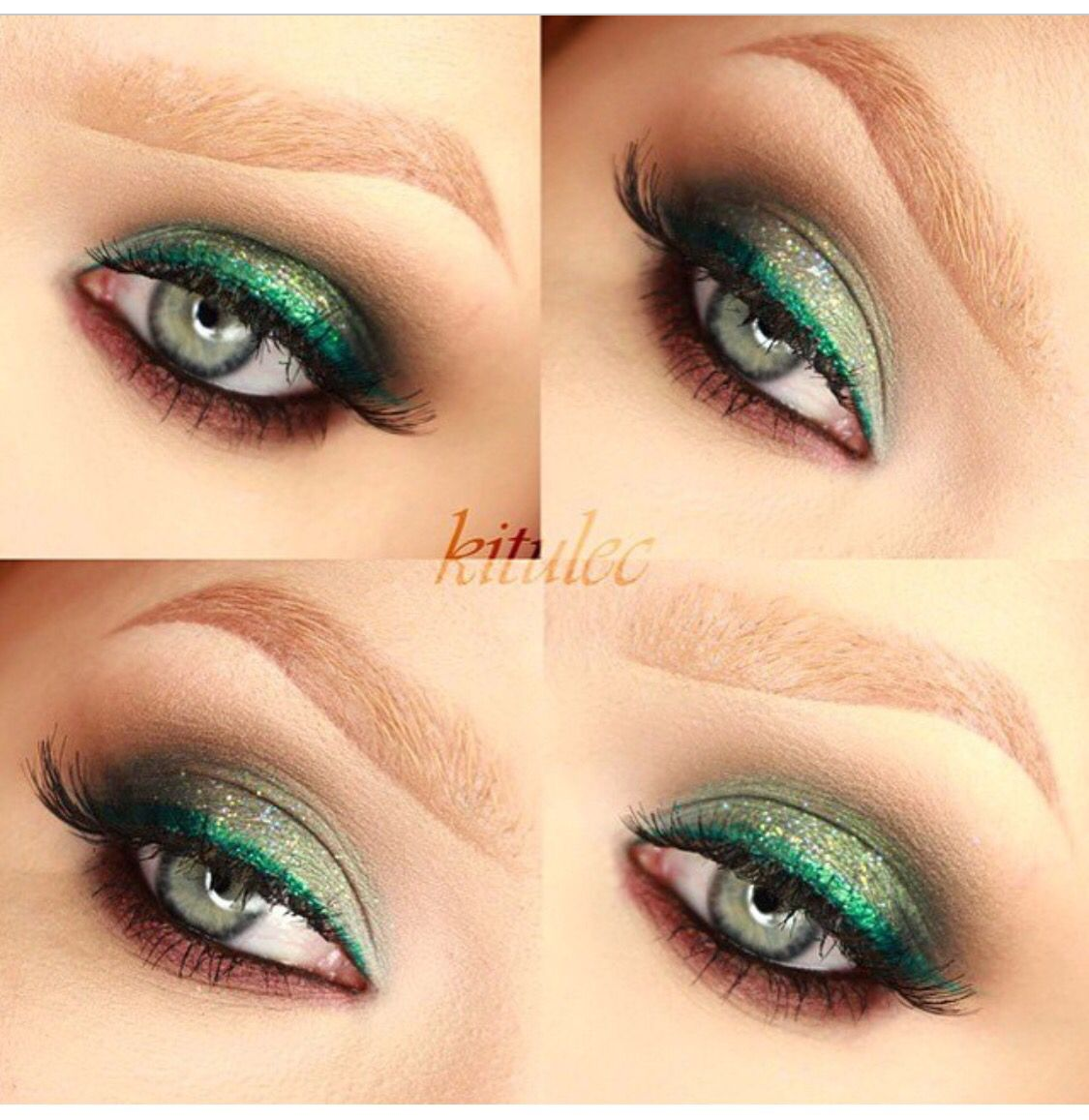 Pin by Jaeda Michelle on THE COLOR Green Holiday looks