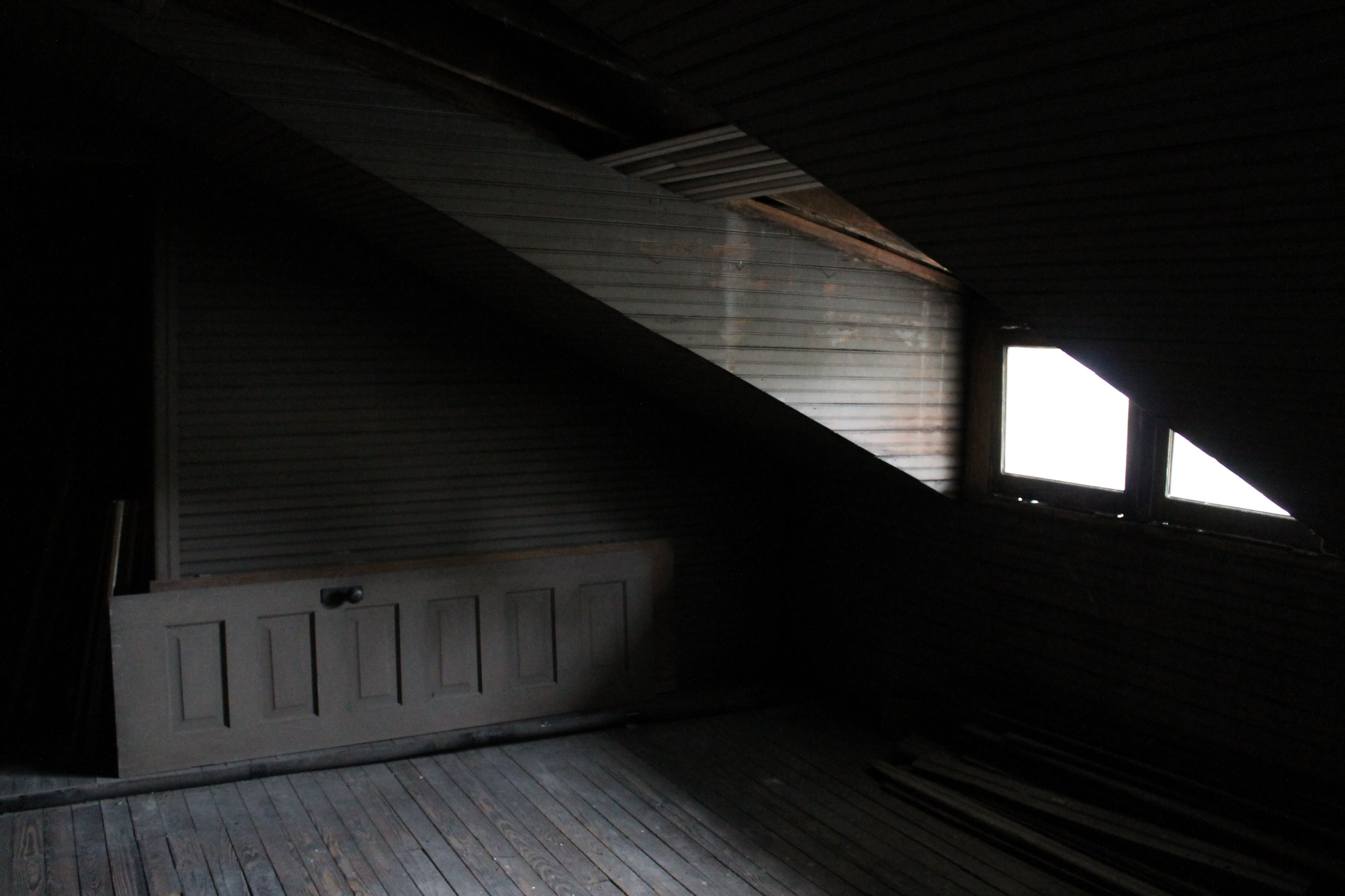 Attic Undone Bright Rooms Attic Old Abandoned Houses