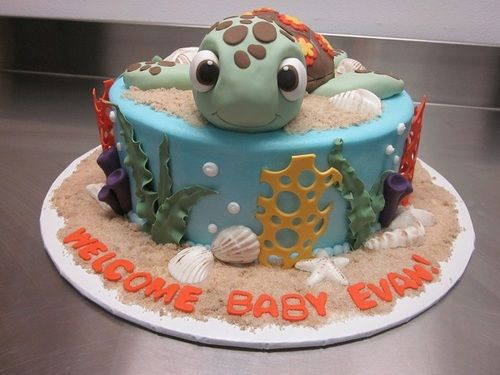 Finding Nemo Baby Shower Cake Google Search Cakes Pinterest