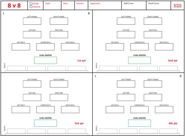 3 2 2 Soccer Football Formation Football Formations Soccer Football