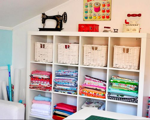 Good IKEA Sewing Room | Ikea Expedit Sewing Room Storage | Flickr   Photo  Sharing!