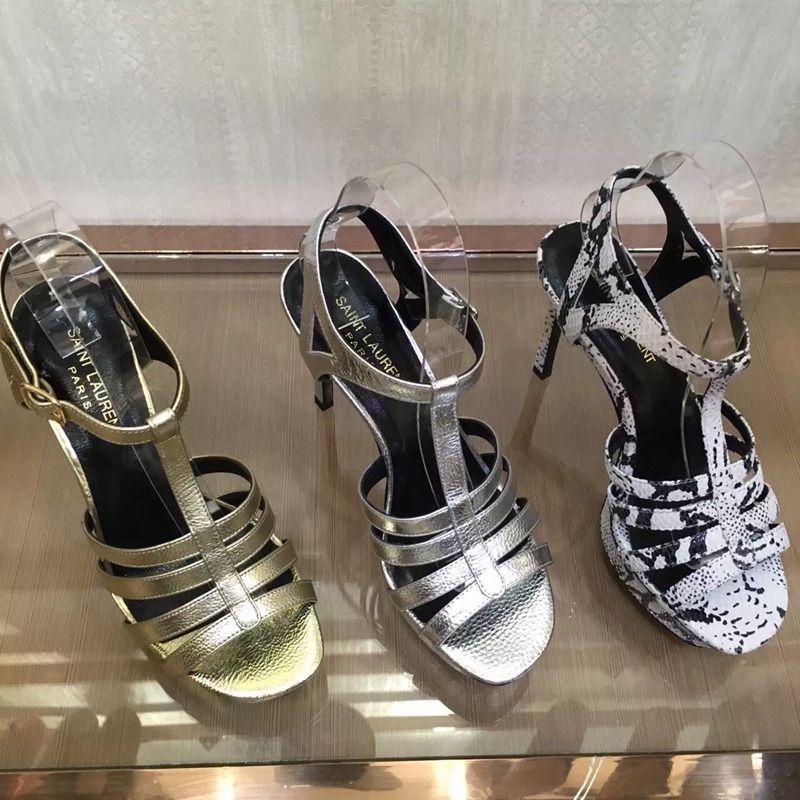 01815b2b292 Buy YVES SAINT LAURENT(YSL) Brand women High-heeled shoes boots ST41279 35 -39