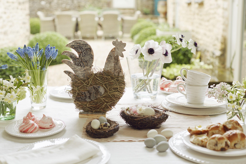 Myrtle hen, Orpington nest & Legbar eggs. Bowsley