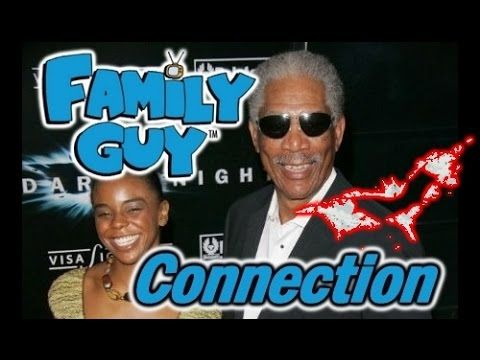 Family Guy/Dark Knight Connection To Morgan Freeman's Grand Daughter's D...