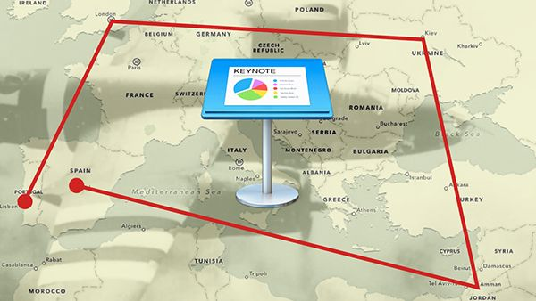 learn the trick to creating animated travel maps in keynote apple