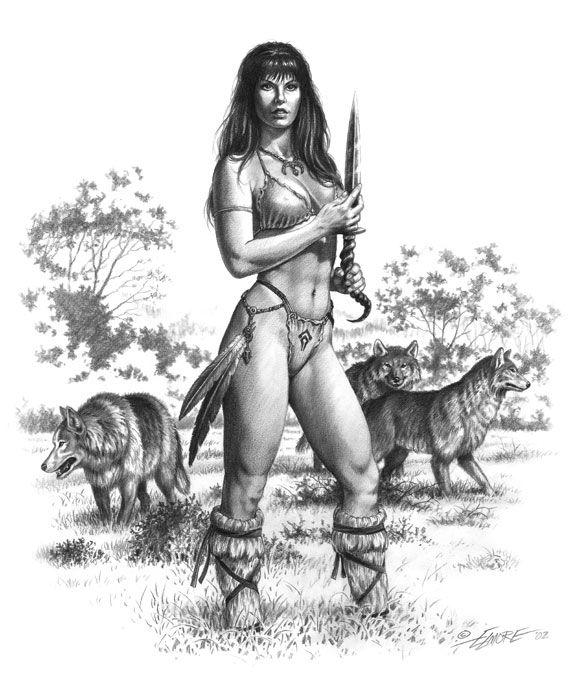 амазонки рисунки картинки тотьме осталась