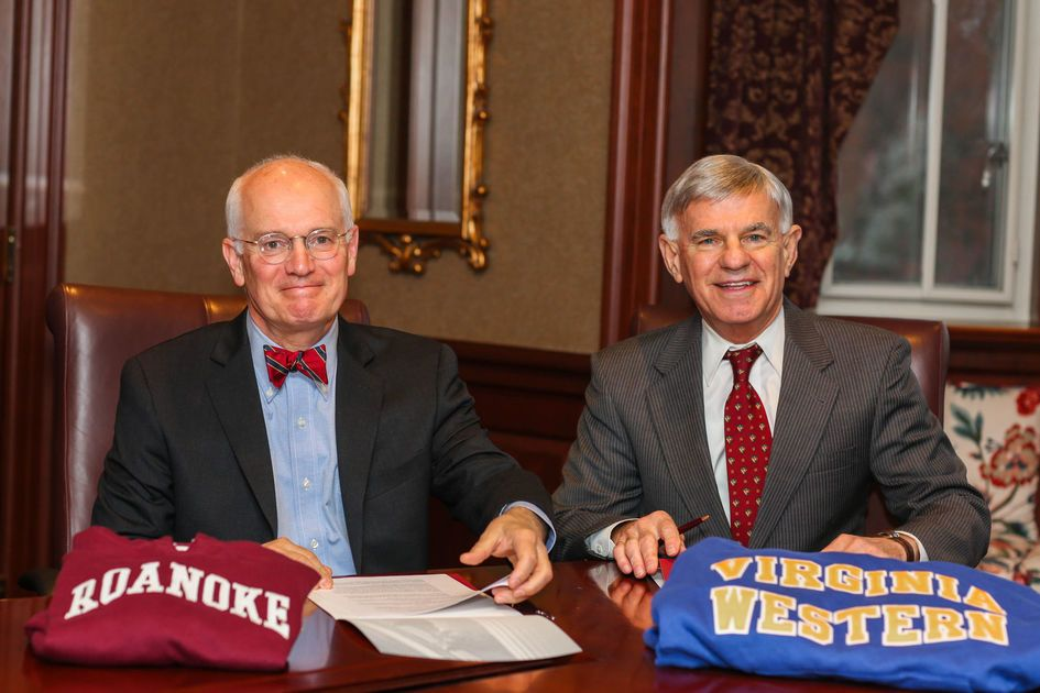 Community College Roanoke College Reach Transfer Agreement For