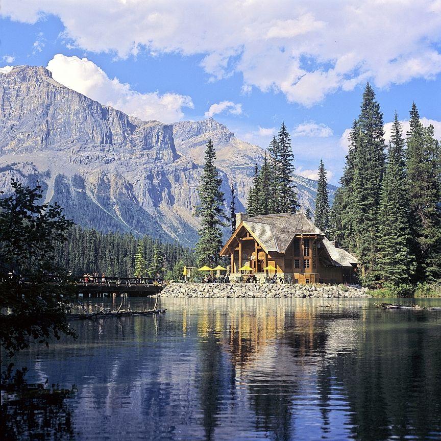 Honeymoon Destinations Rocky Mountains: Cilantro On The Lake - Emerald Lake Lodge