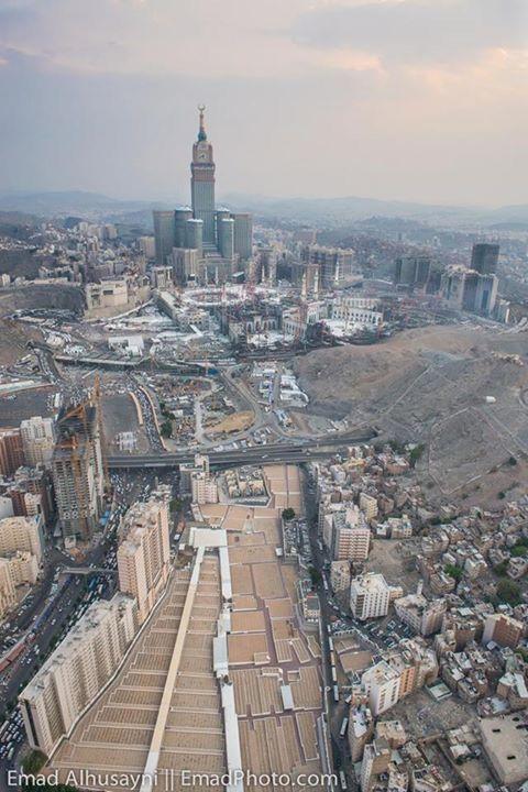 Construction Taking Place In Makkah In Advance Of Hajj 2015 Mecca Mosque Makkah