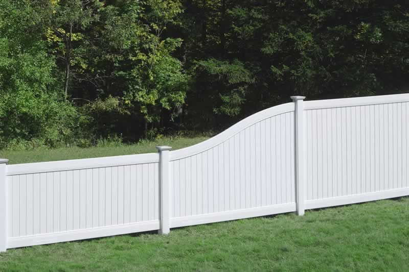 Fence Lexinton White S Curve Ctf07pbtfwvpv0072a Jpg Vinyl Privacy Fence White Vinyl Fence Backyard Fences