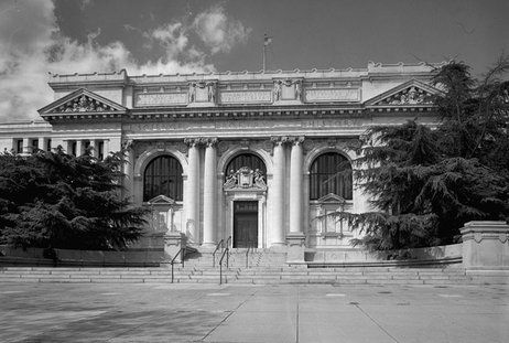 """The Carnegie Library in Washington, D.C., dates back to 1903. Paul Dickson, author of The Library in America, says this library was """"one of the first really beautiful public buildings"""" in the city."""