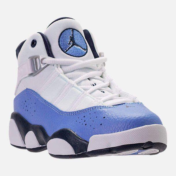 3e12d566157314 Nike Girls  Preschool Air Jordan 6 Rings Basketball Shoes