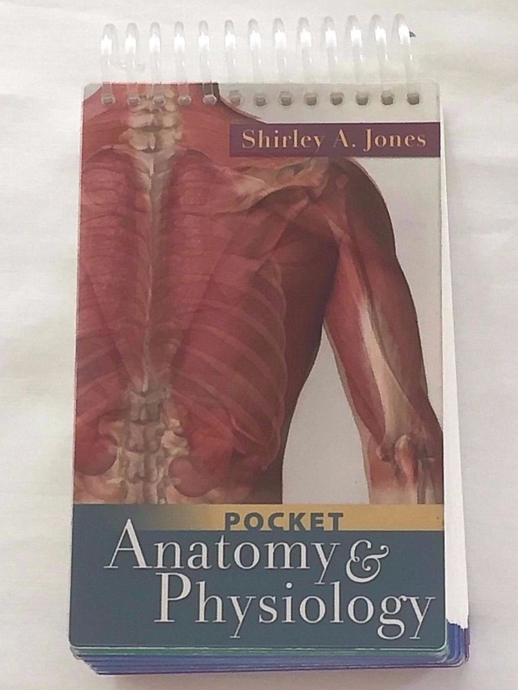 Pocket Anatomy and Physiology by Shirley Jones Nursing Science ...