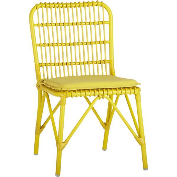 Kruger Sulfur Dining Chair With