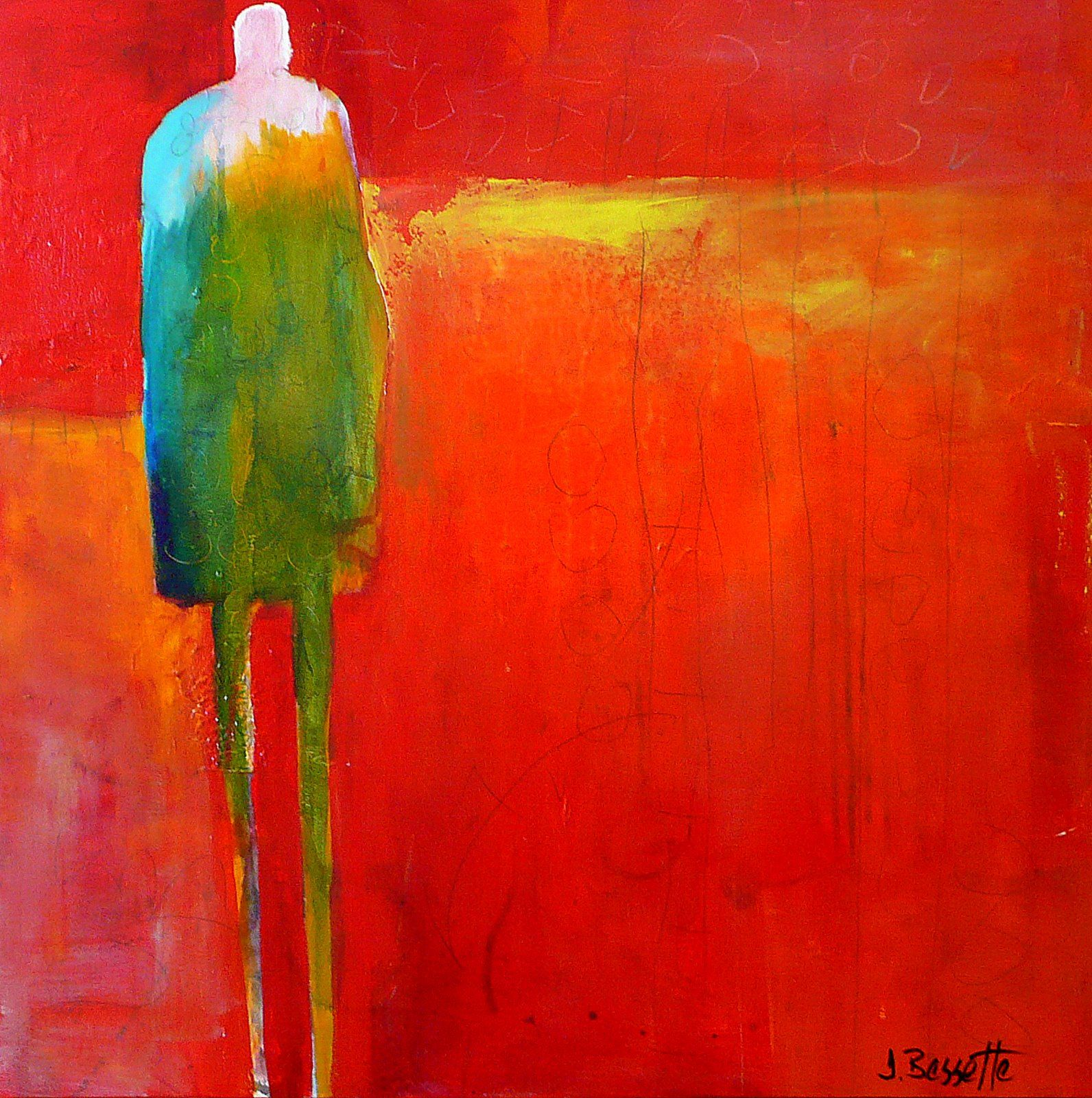 home of jeanne bessette abstract figurative w delicious layers