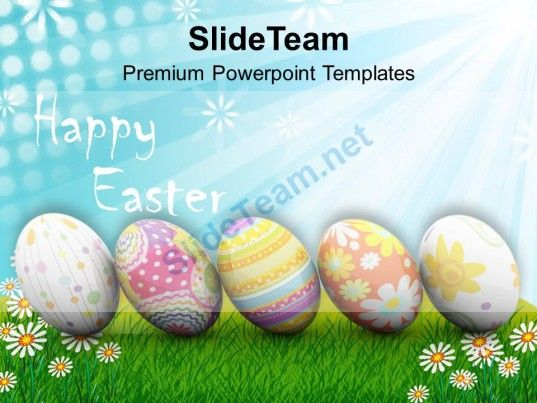 Origin Of Spring New Life Happy Easter Powerpoint Templates Ppt