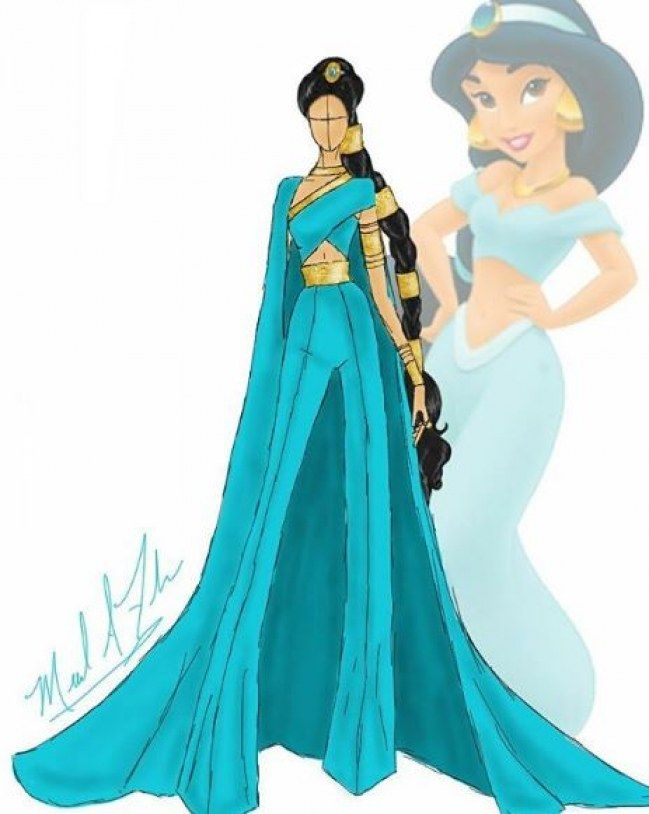 Princesse Disney : Ce designer remet les robes au goût du jour ...