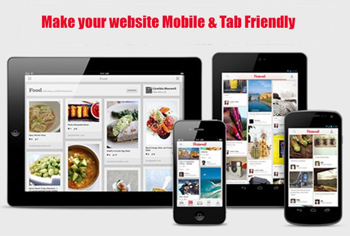 I will make your website Mobile Friendly and Tab Friendly for $5