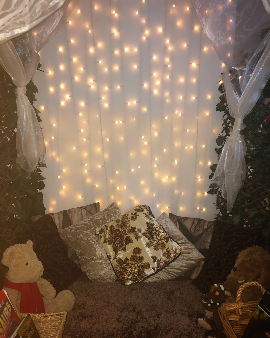 "Holly on Instagram: ""The cosiest space for reading and spending time together � . . #readingarea #readingcorner #readingnook #bookworms #hygge #hyggeclassroom…"""