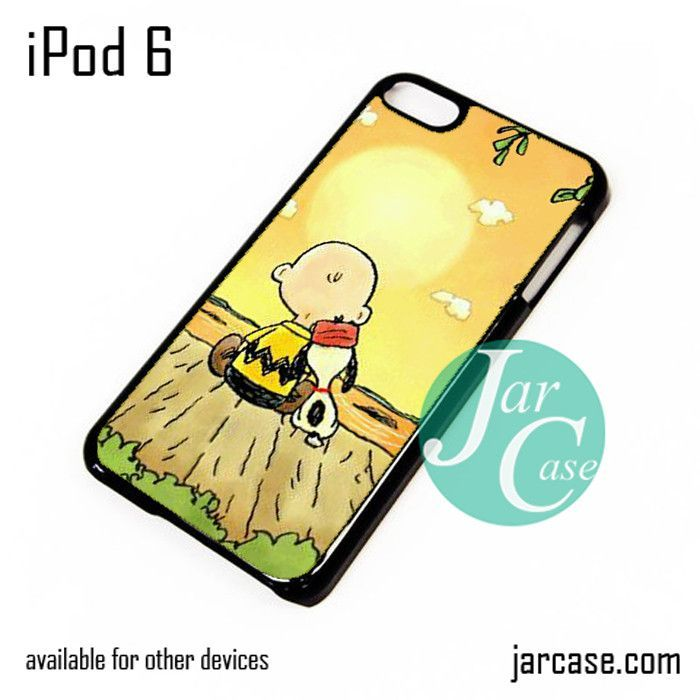 Snopy in Sun Down iPod Case For iPod 5 and iPod 6