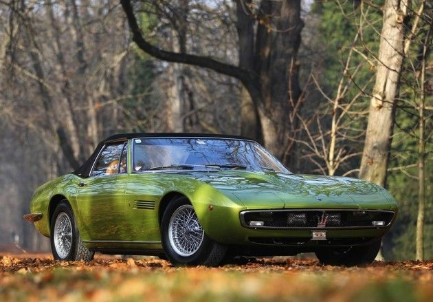 1971 Maserati Ghibli SS Spider.
