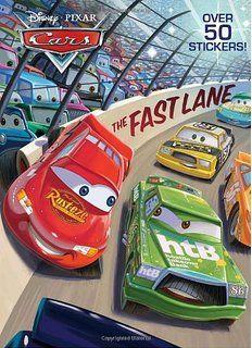 the fast lane disneypixar cars super coloring book - Disney Cars Books