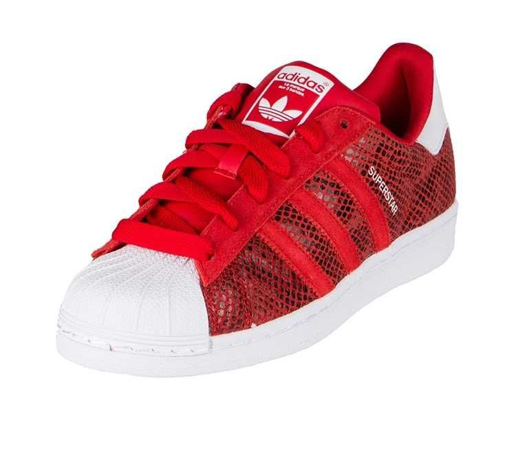 adidas superstar röda