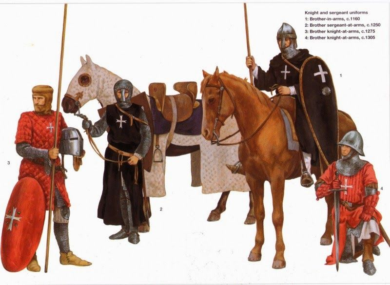 Knight and sergeant uniforms