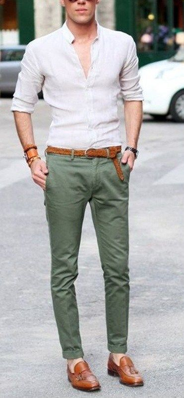 00a21ab18b15f9 5 Must have Chino Colors for Men This Year | | Men's Fashion ...