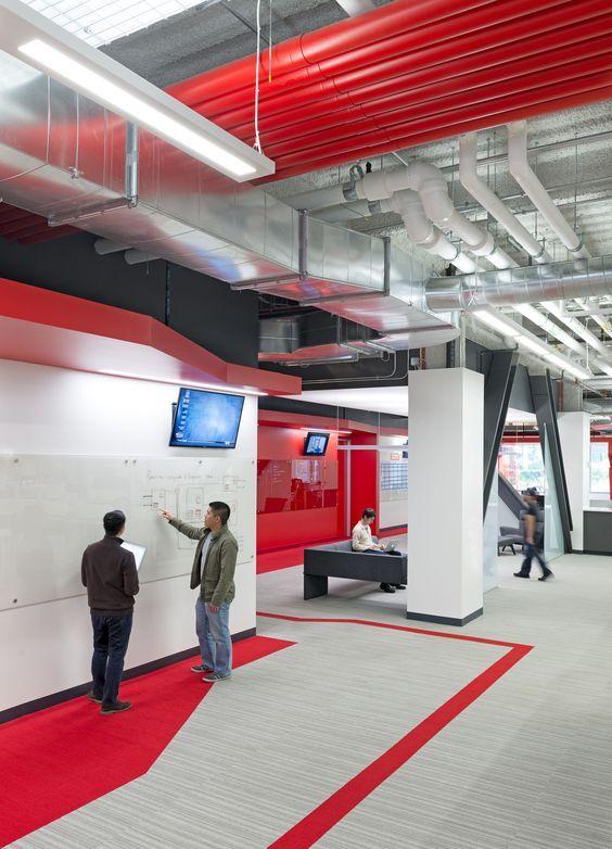 Comcast HQ Office Design Blitz Sunnyvale CA USA GYM