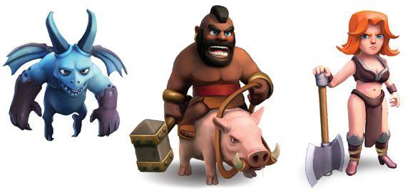 Hog Rider Clash Of Clans Troops Clas Of Clan Clash Of Clans Logo