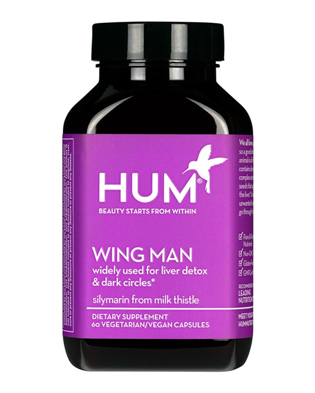 Hum Nutrition Wing Man Supplement Vitamins For Skin Liver Detox Hum Nutrition