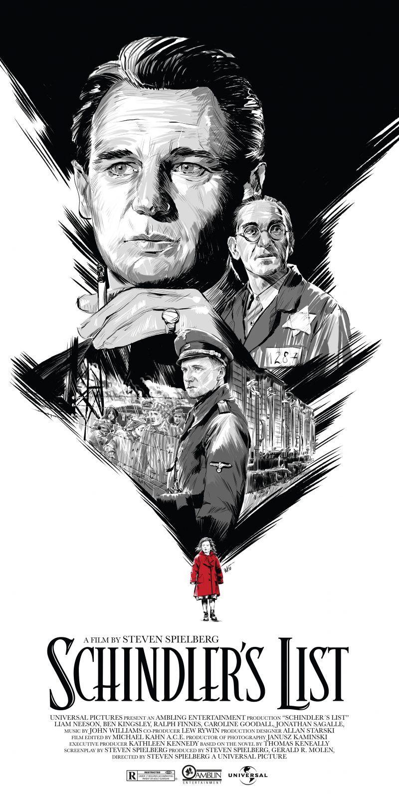 Schindlers List (1993) [800 x 1600] | MoviePosterPorn in