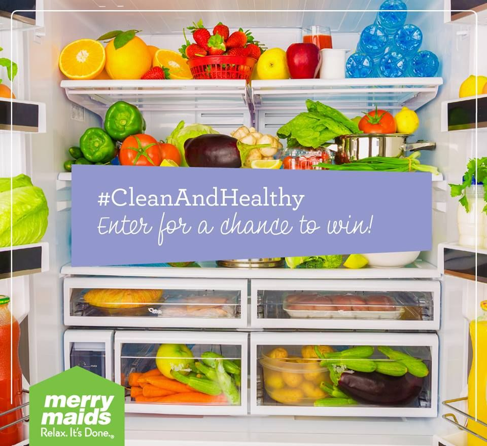The first step to eating healthy is having a clean fridge