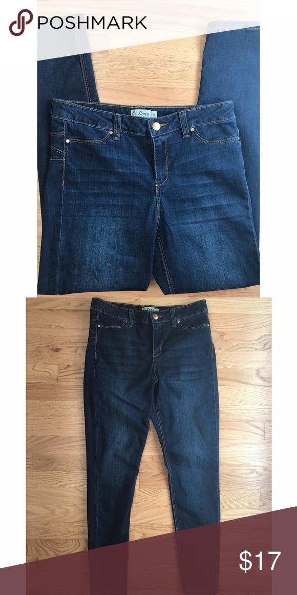 06b3daf1807 Fashion Nova jeans Ci Sono dark wash jeans from Fashion Nova. Size 9  Fashion Nova Jeans Skinny