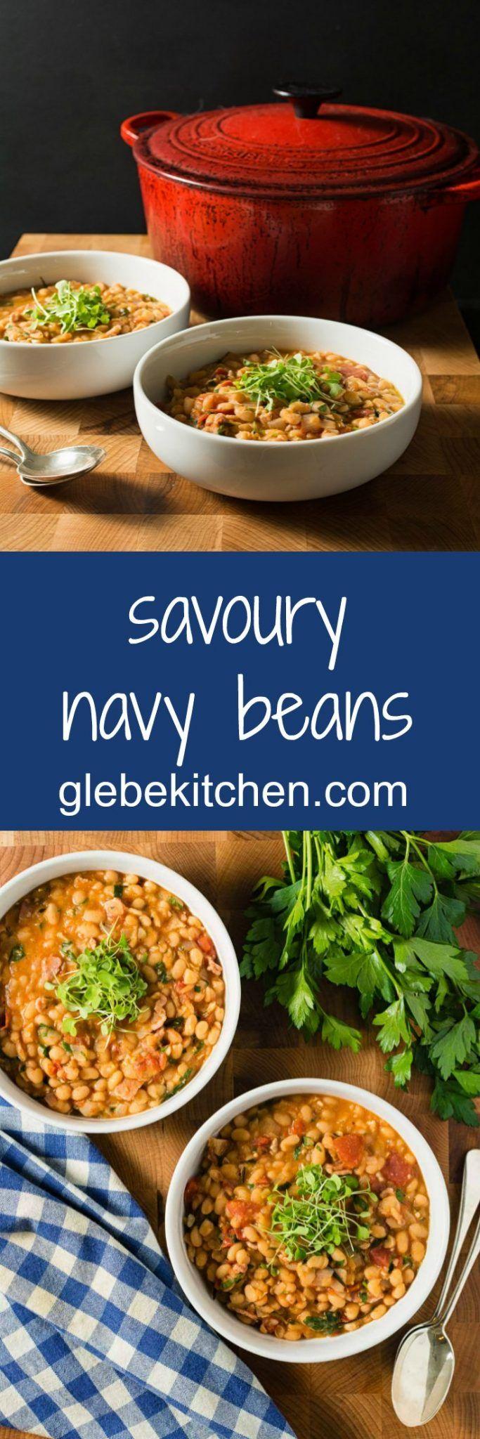 Savory Navy Beans