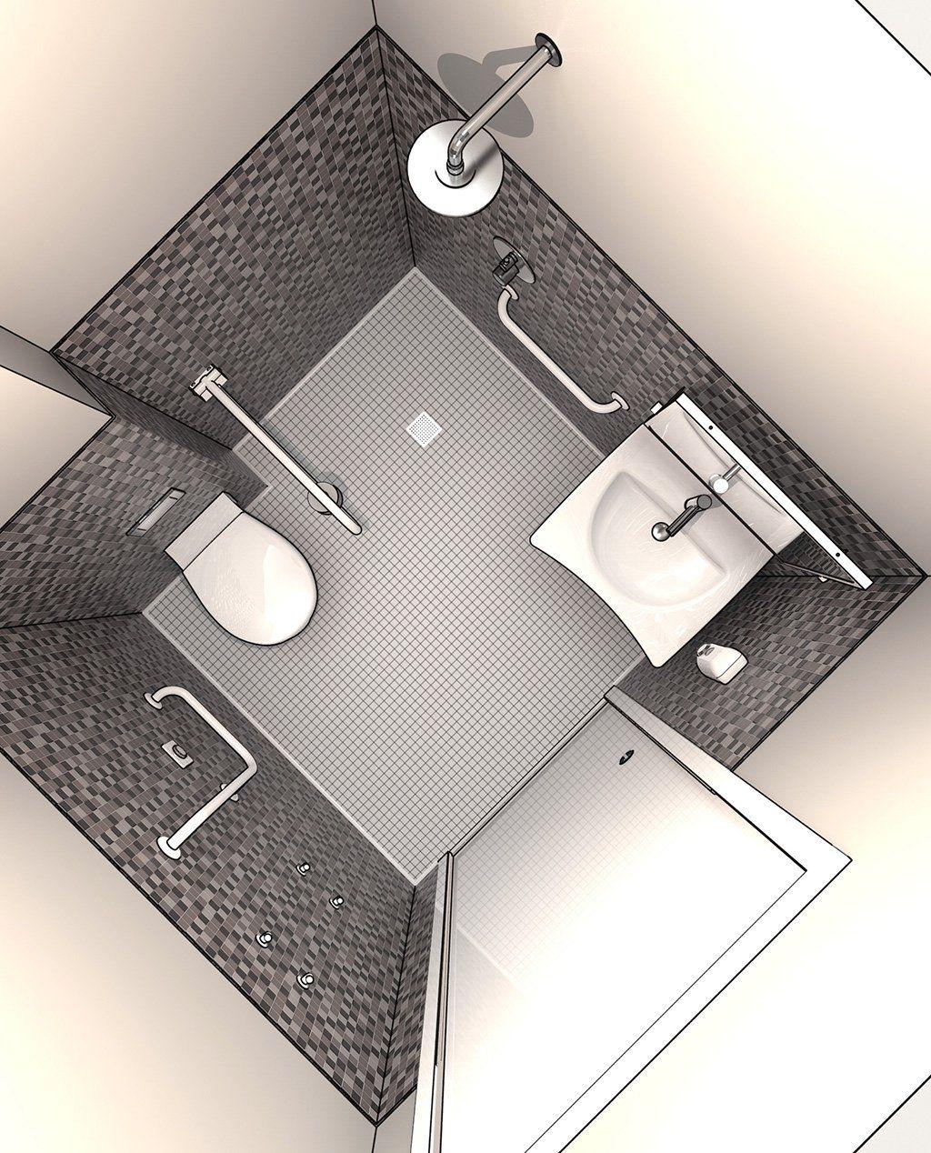 Baños para personas con discapacidad que cumplan con los ...