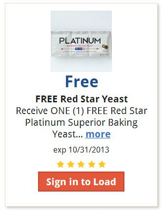 image regarding Ralphs Printable Coupons named Free of charge Purple Star Platinum Sophisticated Baking Yeast 3-Strip at