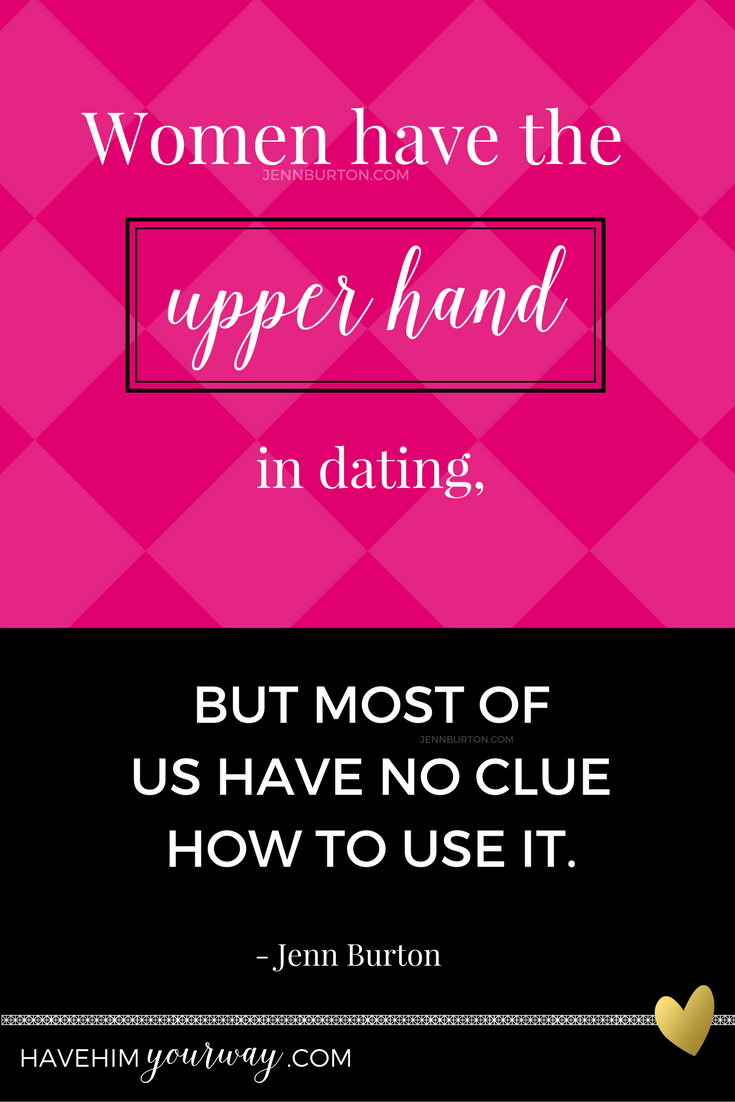 Upper hand dating