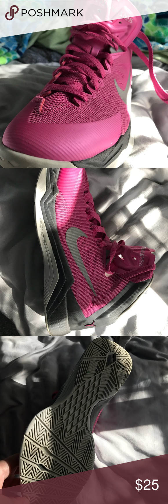 Pink Nike hyperspeed womens Cute and