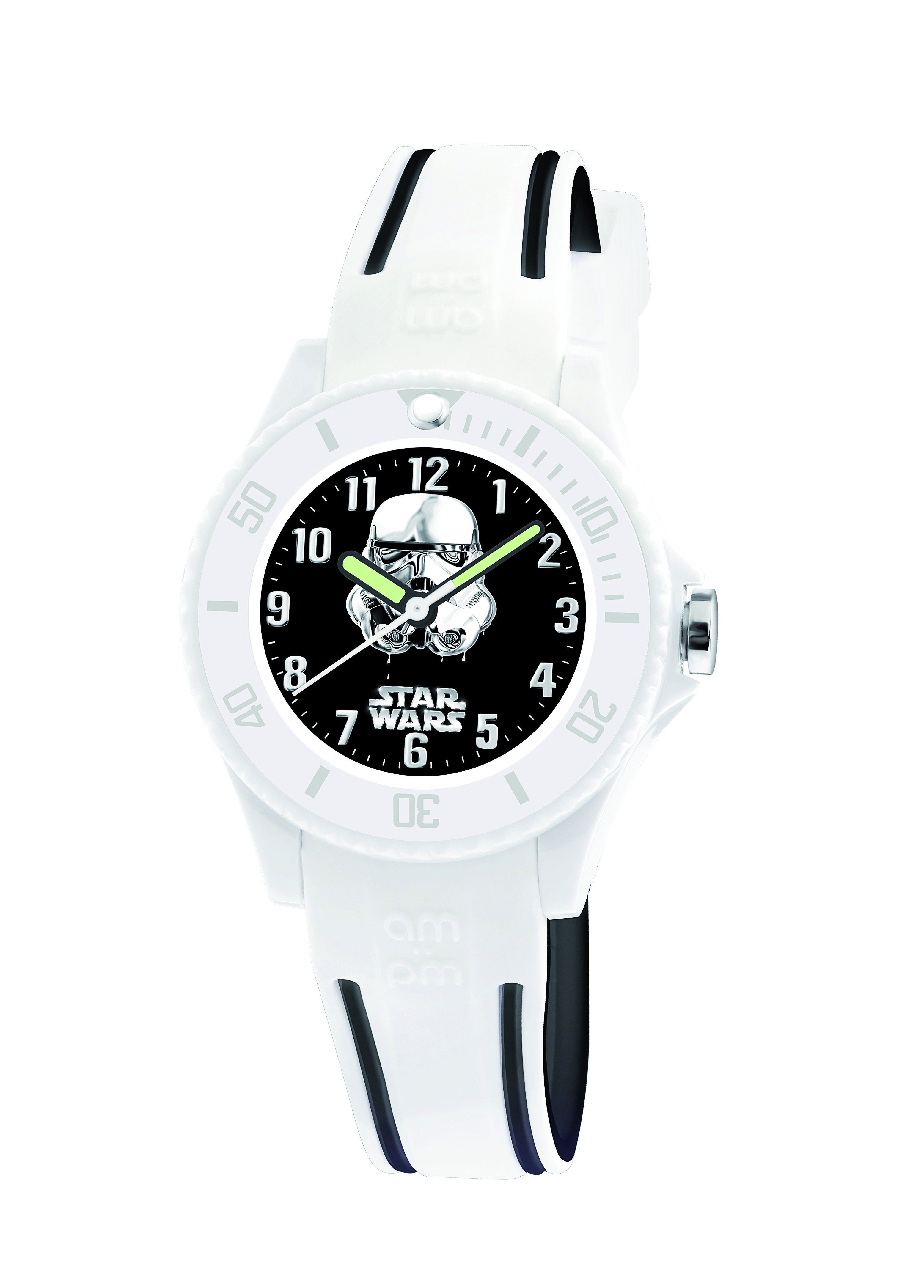 Disney Star Wars · Black Rubber · 100% Authentic with 2-Year AM PM Backed  Warranty Included. Authorized Online b0ac4d9651e