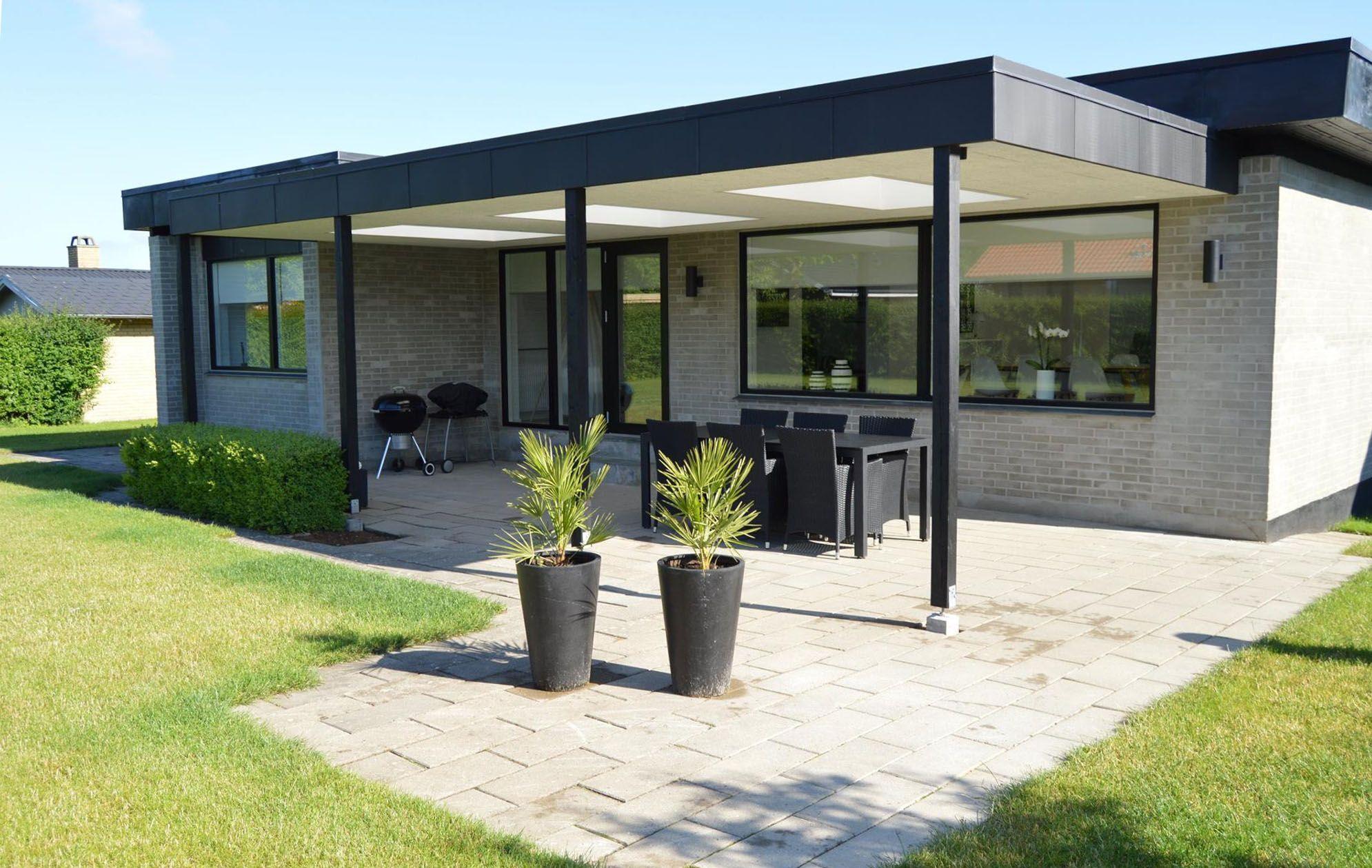 Fin overdækket terrasse tømrer   előtető   Terrasse ideer, Terrasse og IJ-37